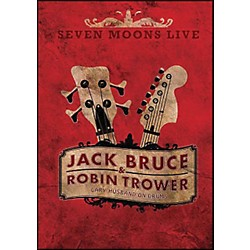 Hal Leonard Robin Trower & Jack Bruce Seven Moons Live Concert DVD Gary Husband On Drums (320945)