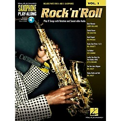 Hal Leonard Rock 'N' Roll - Saxophone Play-Along Vol. 1 Book/CD (113137)