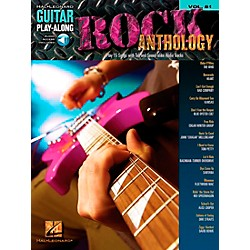 Hal Leonard Rock Anthology - Guitar Play-Along Series, Volume 81 (Book/CD) (700176)