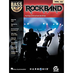 Hal Leonard Rock Band - Classic Rock Edition - Bass Play-Along Volume 22 Book/CD (700706)
