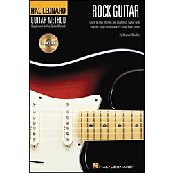 Hal Leonard Rock Guitar 6X9 Book/CD Hal Leonard Guitar Method (697343)