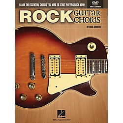 Hal Leonard Rock Guitar Chords - Learn the Essential Chords You Need to Start Playing Rock Now! Book/DVD (696485)