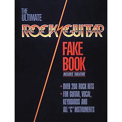Hal Leonard Rock Guitar Fake Book (240070)