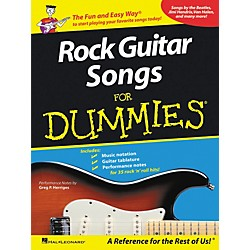 Hal Leonard Rock Guitar Songs For Dummies (699766)