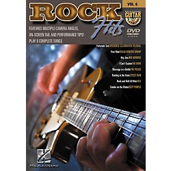 Hal Leonard Rock Hits Guitar Play-Along Series DVD with Tab (320521)