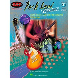 Hal Leonard Rock Lead Techniques Book/CD Package (695146)