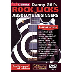 Hal Leonard Rock Licks For Absolute Beginners - Lick Library DVD (125430)