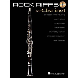Hal Leonard Rock Riffs For Clarinet Book/CD (842339)