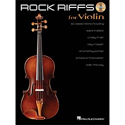 Hal Leonard Rock Riffs For Violin - Book/CD (842340)