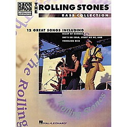 Hal Leonard Rolling Stones Bass Collection Bass Guitar Tab Songbook (690256)