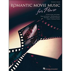 Hal Leonard Romantic Movie Music For Piano arranged for piano solo (311409)