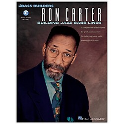 Hal Leonard Ron Carter - Building Jazz Bass Lines Book/CD (841240)