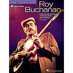 Hal Leonard Roy Buchanan - Guitar Signature Licks Book/Online Audio (696654)