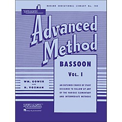 Hal Leonard Rubank Advanced Method For Bassoon Volume 1 (4470430)