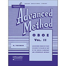 Hal Leonard Rubank Advanced Method For Oboe Volume 2 (4470420)