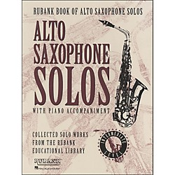 Hal Leonard Rubank Book Of Alto Saxophone Solos With Piano Accompaniment - Intermediate Level (4479897)