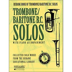 Hal Leonard Rubank Book Of Trombone / Baritone B.C. Solos - Easy To Intermediate Level With Piano (4479898)