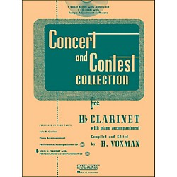 Hal Leonard Rubank Concert And Contest Collection Clarinet Book/CD (4002511)