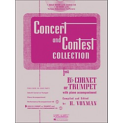 Hal Leonard Rubank Concert And Contest Collection Trumpet/Cornet Book/CD (4002518)