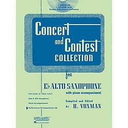 Hal Leonard Rubank Concert And Contest For Alto Sax - Accompaniment CD (4002513)