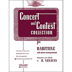Hal Leonard Rubank Concert And Contest For Baritone - Accompaniment CD (4002585)