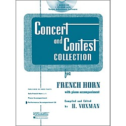 Hal Leonard Rubank Concert And Contest For French Horn - Accompaniment CD (4002519)