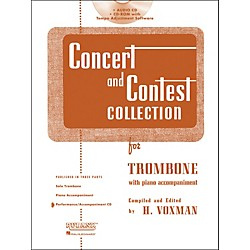 Hal Leonard Rubank Concert And Contest For Trombone - Accompaniment CD (4002521)