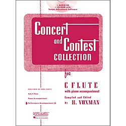 Hal Leonard Rubank Concert and Contest Collection for Flute - Accompaniment CD (4002499)