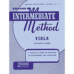 Hal Leonard Rubank Intermediate Method - Viola (4470290)