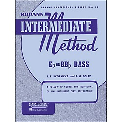 Hal Leonard Rubank Intermediate Method E Flat Or Bb Flat Bass (4470250)