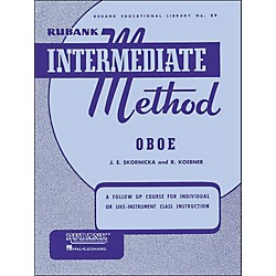 Hal Leonard Rubank Intermediate Method Oboe (4470220)