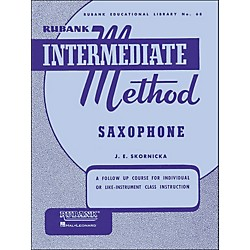 Hal Leonard Rubank Intermediate Method Saxophone (4470200)