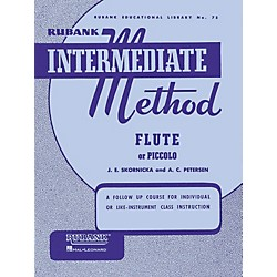 Hal Leonard Rubank Intermediate Method for Flute or Piccolo (4470210)