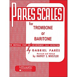 Hal Leonard Rubank Pares Scales For Trombone Or Baritone (4470560)