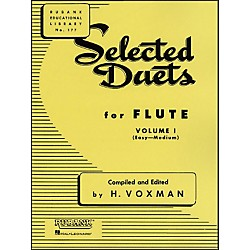 Hal Leonard Rubank Selected Duets For Flute Vol 1 Easy/Medium (4470920)