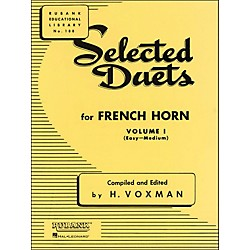 Hal Leonard Rubank Selected Duets French Horn Vol 1 Easy/Medium (4471000)