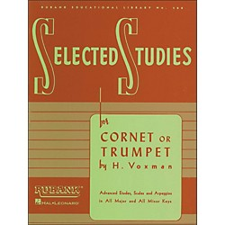 Hal Leonard Rubank Selected Studies For Cornet Or Trumpet (4470680)