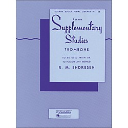 Hal Leonard Rubank Supplementary Studies For Trombone (4470640)