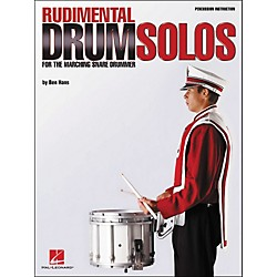Hal Leonard Rudimental Drum Solos For The Marching Snare Drummer (6620074)