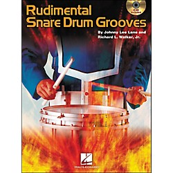 Hal Leonard Rudimental Snare Drum Grooves Book/CD (6620126)