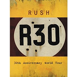 Hal Leonard Rush - R30 - 30th Anniversary World Tour DVD (320547)