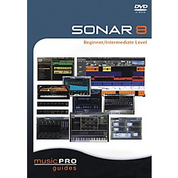 Hal Leonard SONAR 8 Beginner/Intermediate Level (DVD) (320856)