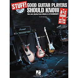 Hal Leonard STUFF! Good Guitar Players Should Know - An A-Z Guide to Getting Better (Book/CD) (696004)