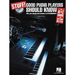 Hal Leonard STUFF! Good Piano Players Should Know (Book/CD) (311419)