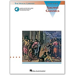 Hal Leonard Sacred Classics For Low Voice Book/CD (740052)
