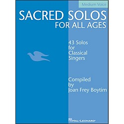 Hal Leonard Sacred Solos For All Ages For Medium Voice (740200)