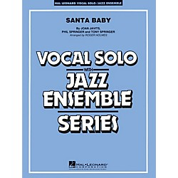 Hal Leonard Santa Baby - Vocal Solo Jazz Ensemble Series Level 4 (7500137)