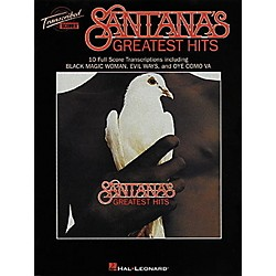 Hal Leonard Santana's Greatest Hits in Full Score (672360)