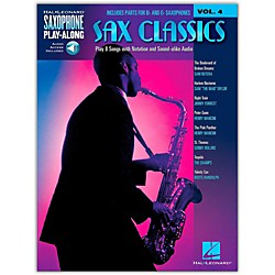 Hal Leonard Sax Classics - Saxophone Play-Along Vol. 4 Book/CD (114393)