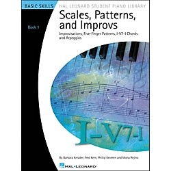 Hal Leonard Scales, Patterns And Improvs - Book 1 Hal Leonard Student Piano Library (296732)